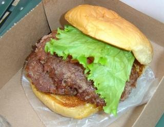 シェイクシャックのダブル・ハンバーガー